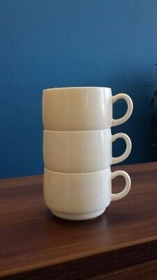 Arcoroc Gastronomie Stackable Reception/Coffee Cups 61/4 oz White - Case of 48