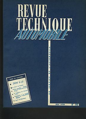 (C4)Revue Technique Automobile Auto-Union Dkw