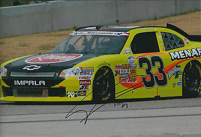 Mad Max PAPIS SIGNED NASCAR 12x8 Photo AFTAL COA Autograph Chevrolet IMPALA