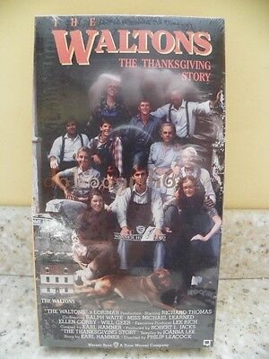 The Waltons Thanksgiving Story Movie VHS Factory-sealed