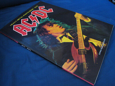 AC/DC Japan Photo Book in 1983 Angus Young