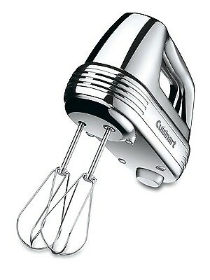 Cuisinart HM-70BC Brushed Chrome 220-W Power Advantage 7-Speed Hand Mixer Whisk