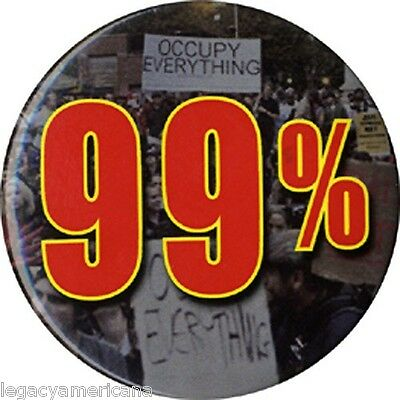 c. 2011 Occupy Wall Street 99% Protest Button (4668)