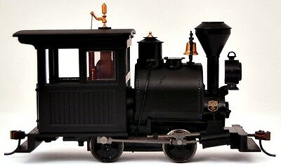 Bachmann On30 Scale Train Steam 0-4-0 Porter DCC Equipped Black Vertical 28098