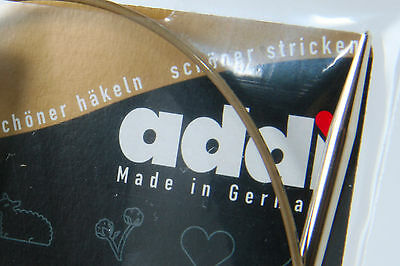 "One Pair of addi Premium Circular Knitting Needle 80cm (32"")"