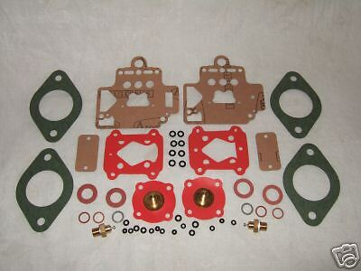 Twin Dellorto 40 Dhla Carb/ Carburettor Service Kit New