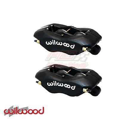 1Pair Wilwood Forged Dynalite 4 Piston Caliper .081 Rotor Sprint   120-6816