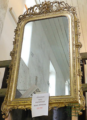 Large Antique Mid-Victorian Mirror – Ref. 0353