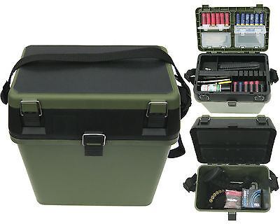 Shooting Hunting Gun Ammo Ammunition Tool Box Rifle Range Field Gun Case Seat