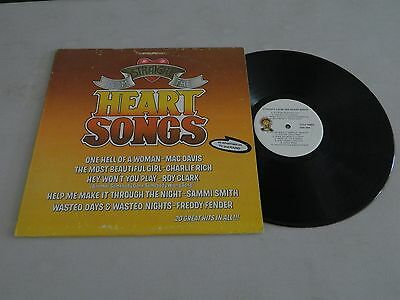 """Heart Songs Straight From The Heart (VG+) 12"""" LP"""