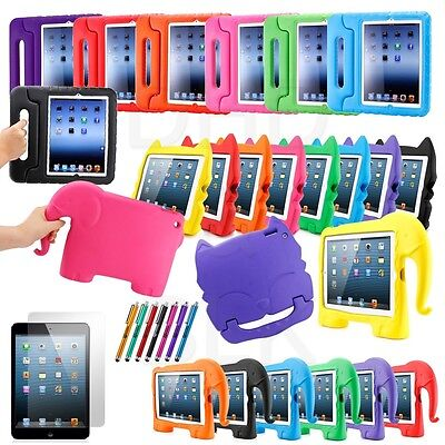 Kids Proof Safe Foam Shock Proof Handle Case Cover for iPad 4 3 2 Mini 1 2 3 New