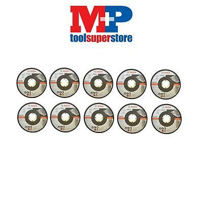 Bosch 2608601258 Angle Grinder Cutting Disc Inox Metal 115Mm *pack Of 10* In Tin