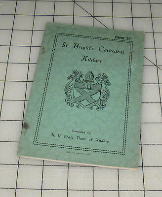 1946 Some Notes on The CATHEDRAL OF St. BRIGAND Kildare Ireland Booklet