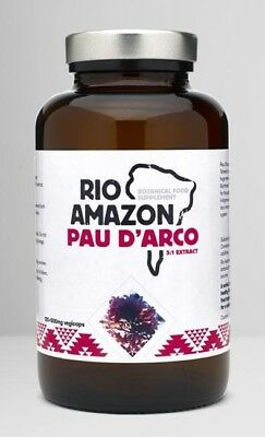 Pau D'Arco, (Lapacho) Rio Amazon, Vegicaps 500mg (120)