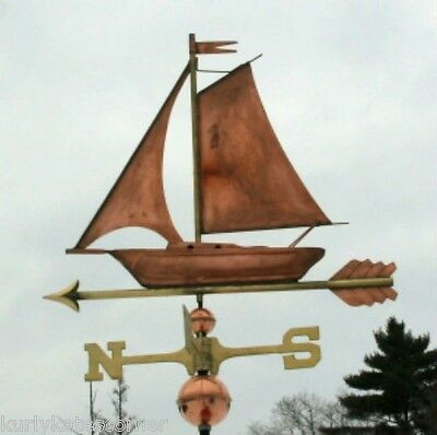 "Copper "" Sailboat "" Weathervane   #2008"