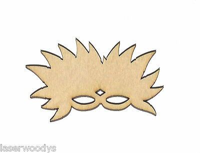 Mardi Gras Mask Unfinished Flat Wood Shape Cut Out Variety Szs M6025 Crafts