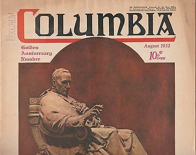 Columbia-The Magazine of the Knights of Columbus-August 1932 Issue