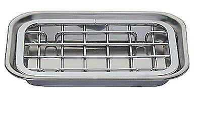 InterDesign Sinkworks Two Piece Stainless Steel Soap Dish
