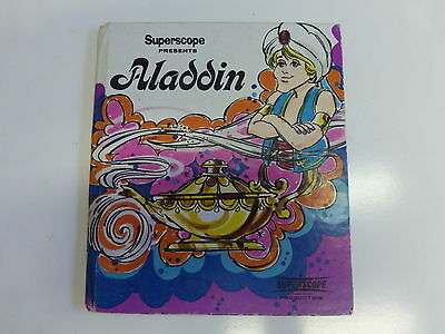 Superscope Presents Aladdin Vintage 1973 Book collectible