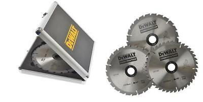 DEWALT DT1172QZ Circular Saw Blade 216mm Aluminium Case **PACK OF 3 BLADES**