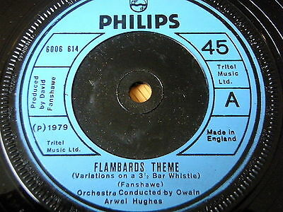 """Theme From The Flambards   7"""" Vinyl"""