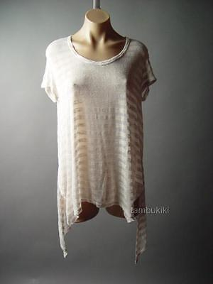 Brown Linen Jersey Desert Apocalyptic Mad Max Wasteland Top 284 mv T Shirt S M L