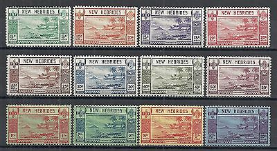 New Hebrides stamps 1938 SG 52-63  MLH  VF