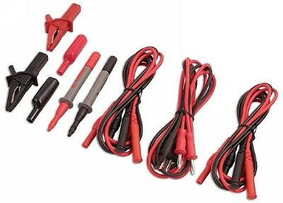 OCTOBER SALE Multi Meter MULTIMETER Accessory TEST Lead Set Probes & Clips