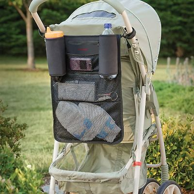 Diono Buggy Mate Stroller/Pram/Buggy Organiser - Drink Holder - Bag Storage