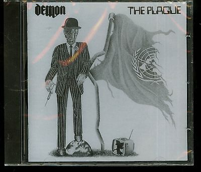 Demon The Plague CD new Spaced Out Music ‎– SPMCD004 2002 reissue