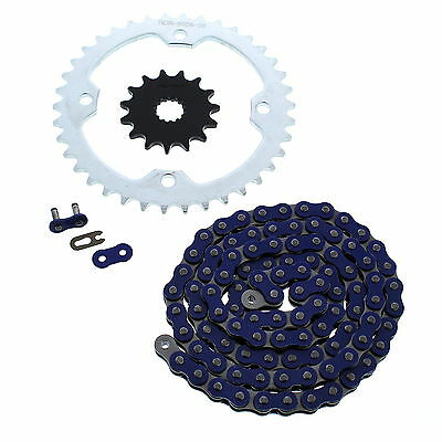 2004 2005 2006 2007 2008 Yamaha YFZ450 YFZ 450 Blue Chain And Sprocket 15/38