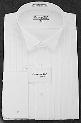 100% High Quality Cotton. Wing Collar Tuxedo Shirts.