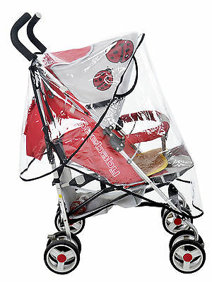 Baby Rain Shield for Single Strollers Rain Cover Wind Shield conucopia