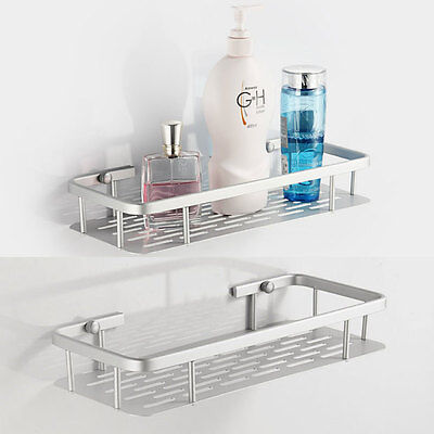 Aluminum Space Shelves Wall-Mounted Bathroom Bath Single Bathroom Shelf 805