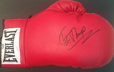 "FELIX ""TITO"" TRINIDAD Signed Autograph Auto Everlast Leather Boxing Glove PSA"