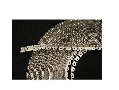 MEDIUM FLEXIBLE TACK STRIP (Curve-Ease) three-tooth, Upholstery (BY THE Yard)