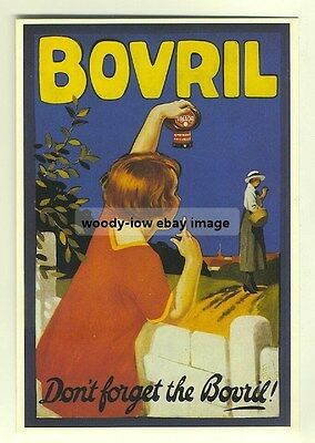 ad2405 - Dont Forget The Bovril - modern poster advert postcard