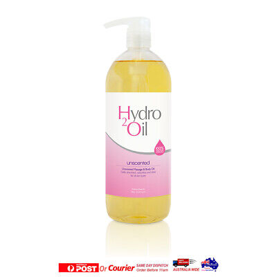 Caron Hydro 2 Oil Massage & Body Oil  1L Unscented 100% Water Dispersible