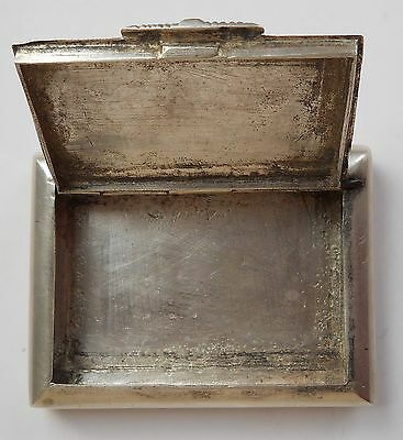 India Vintage silver snuff box hand forged,ove 100 years old #sunf box-1