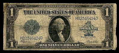 1923 One Dollar Silver Certificate Note Low Grade As Pictured 424D  PM7