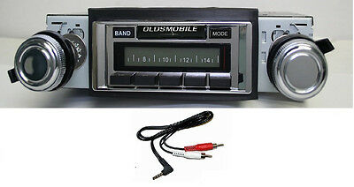 1965 Cutlass/F85 Radio w/ FREE Aux Cable + 230 Stereo **