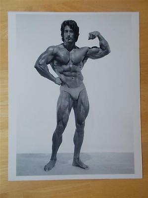 Mr Olympia Bodybuilder FRANK ZANE muscle bodybuilding 8 X 10 BICEP photo