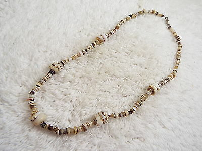 Brown Shell Necklace (A34)