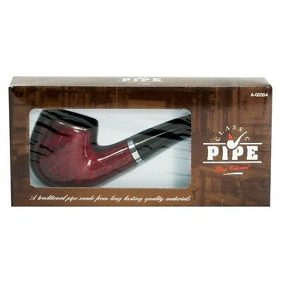 Traditional CLASSIC Durable Wooden SMOKING PIPE for TOBACCO Cigarettes Cigar