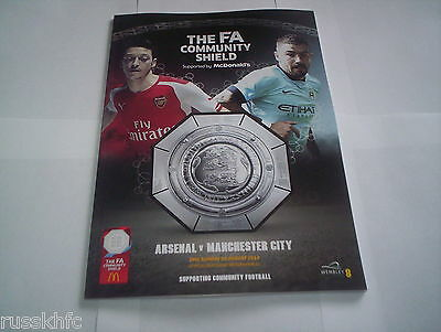 2014 Community Shield Man City V Arsenal