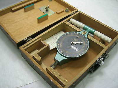 Vintage Dynamometer Muscle Japanese Takei Kiki with chain and Wooden Box