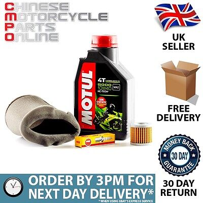 Motorcycle Service Kit for Sinnis Max II 125cc QM125-2V
