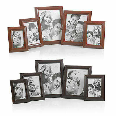 Free Standing or Wall Hanging Wooden Picture Photo Certificate Frames Home Gifts