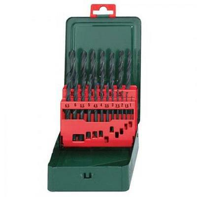 Metabo 6.27151 Metric Hss-R Metal Drill Bit Set 19 Piece 1-10Mm **