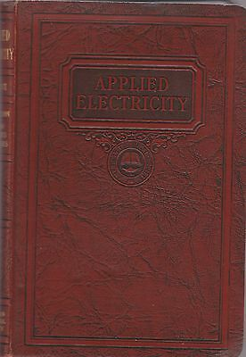 Applied Electricity General Reference Book-1935!